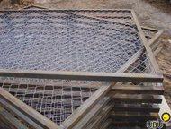 секции для забора Продаем заборные секции от производителя.   Каркас сварен из профиля 30*30мм, обшит либо сеткой рабицей (размер ячейки сетки 50*50 м, Арзамас - Строительные материалы