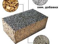 Арболитовые блоки Арболит – уникальный экологически чистый материал, объединивший в себе лучшие свойства камня и дерева, состоящий на 80% из дерева, н, Астрахань - Строительные материалы