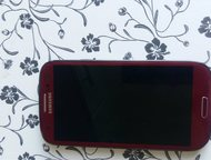 Samsung s3 Продаю телефон в хорошем состоянии, цвет бордовый, зарядка оригинал наушники и документы имеются! По всем вопросам обращайтесь!, Астрахань - Телефоны