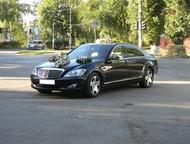 Мерседес 221 S-500, представительского класса Аренда Мерседес S-500 представительского класса 221 кузов.   Цвет черный, панораманая крыша , все сидень, Балаково - Авто на заказ