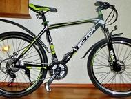 Абсолютно новый велосипед с алюм, рамой, диск Vector 870 Alum DISK 26  - Материал рамы: Алюминий 19 дюймов (есть на 17 синий), вес велосипеда 13 кг;  , Челябинск - Купить велосипед