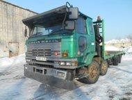 Хабаровск: Грузоперевозки 20 тонн Грузоперевозки, Эвакуатор, Ниссан Дизель, 20 тонн, с лебёдкой, полная погрузка. Перевозка грузов и техники. Ширина 2, 4 м, дл