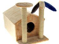 Казань: Продам Когтеточку для вашего питомца Кошка дерёт мебель и оставляет везде свою шерсть? Она агрессивна, пуглива или слишком игрива, отчего страдают не