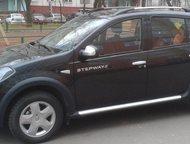 Продам Рено сандеро степвей Продам автомобиль Renault Sandero Stepway, цвет черная жемчужина, машина в отличном состоянии, в машине не курили, один хо, Казань - Купить авто с пробегом