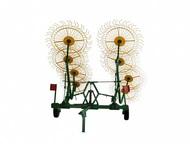 Кемерово: Грабли-ворошилки ГВВ (8 и 9 колесные) Грабли ворошилки валкообразователи ГВВ-6, 0 предназначены для сгребания провяленной травы из прокосов в валки, в