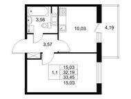 Квартира от застройщика в Приморском р-не СПБ Успейте купить квартиру в Приморском районе Санкт-Петербурга,   с качественной отделкой по супер привлек, Кириши - Коммерческая недвижимость