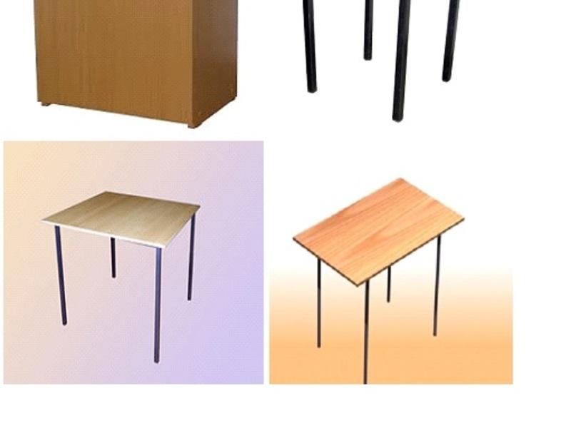 Стол обеденный (лдсп)700мм*700мм*750 (высота)-1260 в кирсано.