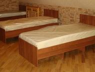 Краснодар: Кровати односпальные Изготавливаем и продаем кровати, шкафы, тумбы прикроватные для, гостиниц, хостелов, дома, баз отдыха и. т. д. (Кровати, крепкие,