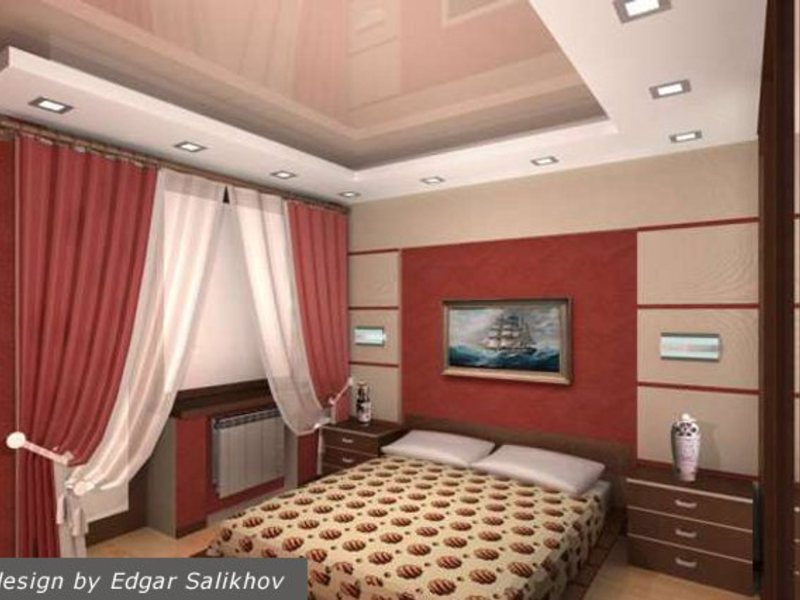 Интерьер спальни онлайн - interior.