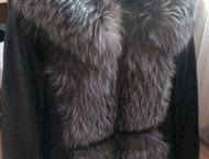 Продам теплую кожаную куртку Продам, куртке 2 сезона, теплая, с натуральным мехом и пухом. Рукава отстегиваются, можно просто носить жилеткой. Мех не , Красноярск - Женская одежда