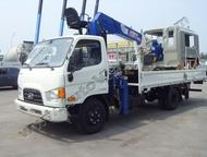 Hyundai HD78 (E-Mighty)4т, Борт-Кран Минусовой 3т, Hotomi LS1030TS Цена указана с НДС 18%, таможенными платежами, утилизационным сбором.   Возможно пр, Красноярск - Грузовики (грузовые автомобили)