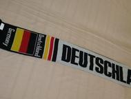 Красноярск: Шарфы спортивные с надписями: Регби и Германия Продам новые шарфы спортивные шерстяные с надписями: « Regby Springboks» желто-зеленого цвета и « Germa