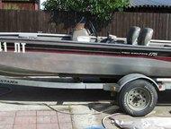 Катер рыболовный Bass Tracker Pro Crappie 175, 2002 года Отлично заточенная  под профессиональную рыбалку алюминиевая клепаная  лодка для мелководья, , Астрахань - Разное