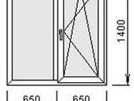 Пластиковые окна и двери в наличии и под заказ Окна и двери любых форм и размеров без монтажа под заказ (не устанавливаем! ). Срок изготовления 1-2 дн, Миасс - Двери, окна, балконы