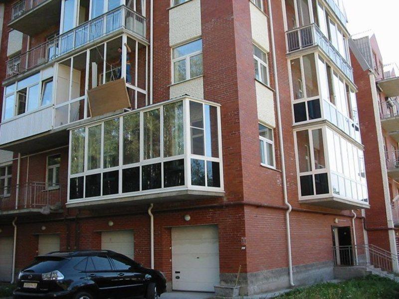 Виды остекления балконов: классический,евроостекление.