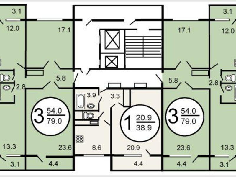 Заказать ремонт квартир в домах серии п-46м, цены - строител.