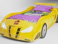 Нижневартовск: Машина для сна для сына в Нижневартовске Новинка. Пластиковая 3D кровать-машинкаFerrari enzo жёлтого цветабудет уютной кроваткой для спокойного сна