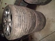 Ноябрьск: литые диски с резиной на форд ауди 225/45R17 б/у летняя резина