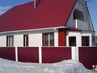 Алтайский край на Новосибирск Добротный 1-этажный дом 90 м (брус) на участке 24 сот. , в доме горячая и холодная вода, слив, туалет, душевая кабина. В, Барнаул - Иногородний обмен