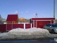 Барнаул: Алтайский край на Новосибирск Добротный 1-этажный дом 90 м (брус) на участке 24 сот. , в доме горячая и холодная вода, слив, туалет, душевая кабина. В