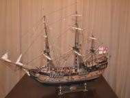 Орск: продам модель парусника модель парусного корабля из дерева в масштабе 1:50 размером 100Х80Х35 см.