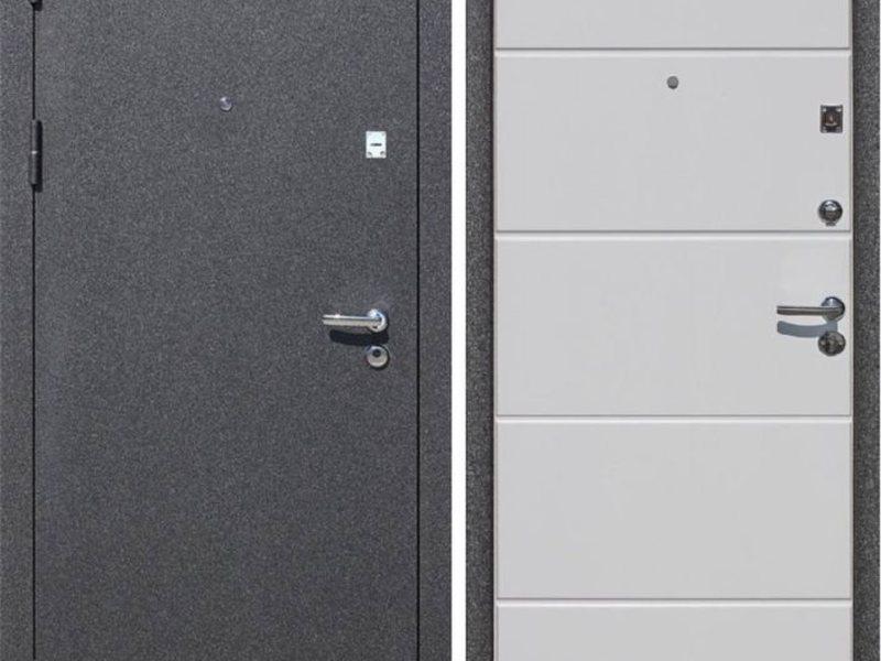 купить с установкой металлическую дверь с напылением