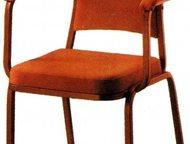 Санкт-Петербург: Стулья с подлокотниками Производим стулья с подлокотниками на металлокаркасе для ресторана, кафе. Стопируются. Предлагаем различные варианты обивки и