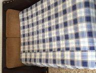 Продам диван Продаю диван, производство Италия, натуральная кожа, элементы отделки крокодиловая кожа, при развороте раскладушка (2000х1400), три подуш, Тюмень - Мягкая мебель
