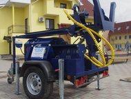 Буровая гидравлическая установка GIDROBUR-G5 Бурение скважин на воду глубиной до 100 метров и выше во всех типах грунтов.   Возможность использовать д, Тольятти - Буровая установка