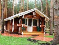 Тольятти: Строим дома, бани из оцилиндрованного бревна под ключ Наша организация занимается строительством домов, бань из экологического материала, оцилиндрован