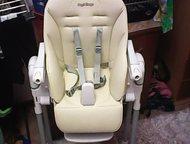 Тольятти: продам стульчик для кормления продаётся стульчик для кормления итальянской фирмы peg-perego в отличном состояние. цвет бежевый.