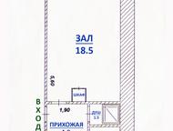 Димитровград: 1 МС Алтайская, д, 65 Уютная квартира для молодой семьи или одного человека  •Кирпичный дом  •Общая площадь – 25, 5 кв. м  •Жилая площадь – 18, 2 к