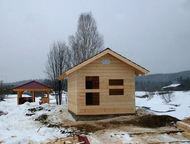 Постройка и отделка деревянных домов Бригада строителей с большим опытом работы в сфере строительства и отделки деревянных домов, предлагает свои услу, Воткинск - Строительство домов, коттеджей